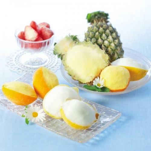 【4種まるごと果実アイス詰合せ】 「hiz-V5105-304A」