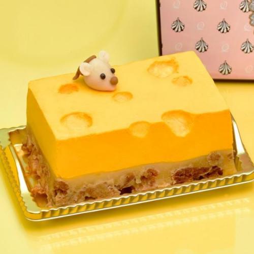 【Q-pot CAFE.】チーズケーキ(7.5cm×11cm※2~3名様)