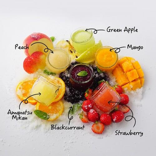 【ソルベ・デ・ビジュー】マンゴーや白桃などシャーベット全6種
