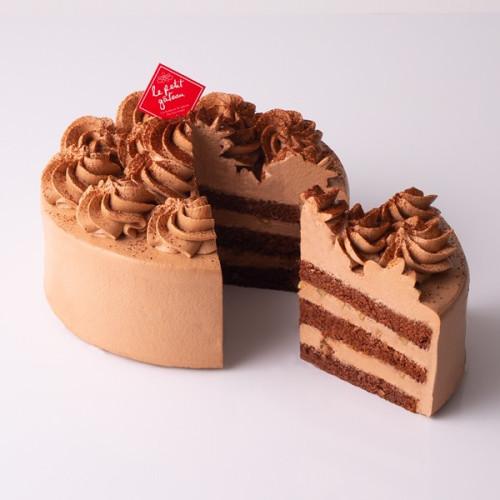 【イタリアントマト】濃厚チョコレートケーキ  5号(15cm)