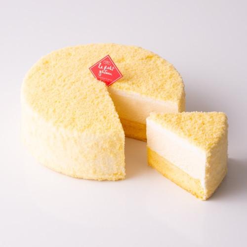 【イタリアントマト】濃厚チーズケーキ ~二層仕立て(ドゥーブルフロマージュ)~  5号(15cm)