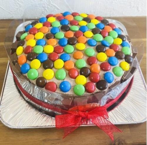 一緒にチョコトッピングしてね☆スペシャルチョコレートケーキ
