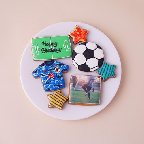 ★合計7枚/選べるから嬉しい★フォトクッキーセット(サッカー)
