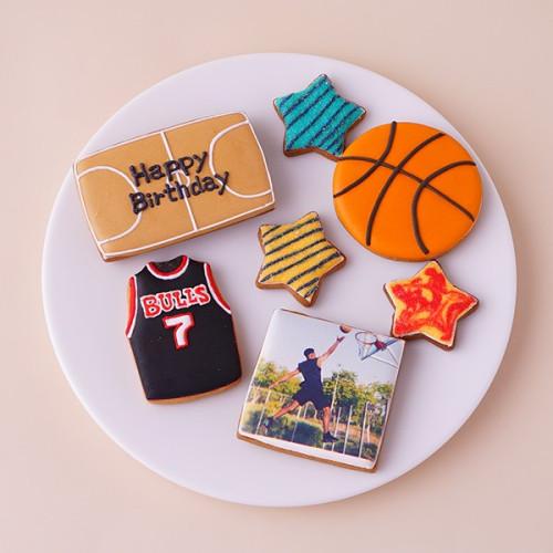 ★合計7枚/選べるから嬉しい★フォトクッキーセット(バスケ)
