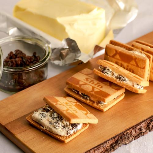 【ファクトリーシン】バターサンドクッキー 5ヶ入
