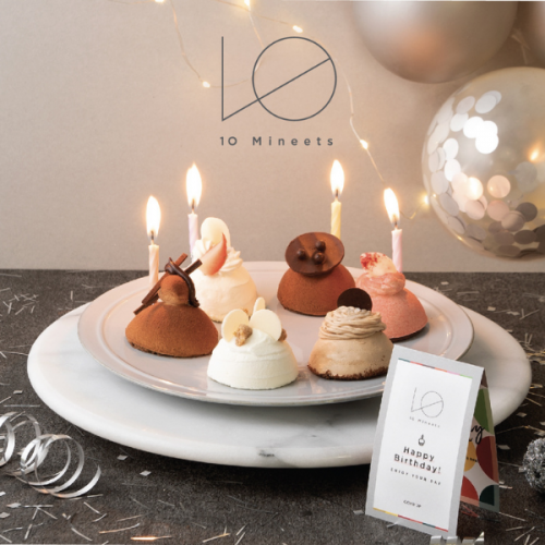 【10 Mineets】The Cake ケーキ6種