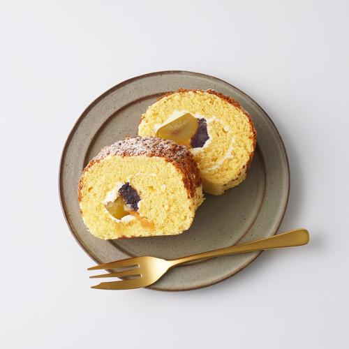 【西内花月堂】 和顔施 栗入りロールケーキ
