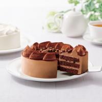 【不二家】糖質オフ チョコ生ケーキ  5号  14.5cm