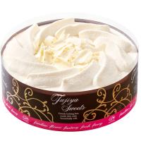 【不二家】糖質オフ ホワイトチョコ生ケーキ 5号 14.5cm