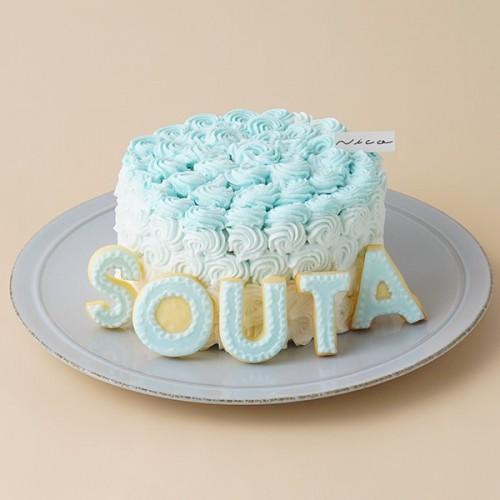 スマッシュケーキ色が選べるBOY☆豆乳ヨーグルトクリーム 4号