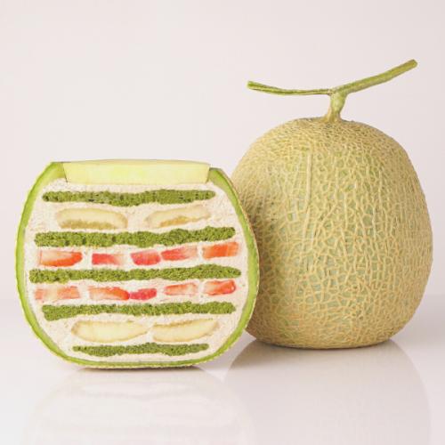 【期間限定】抹茶×マロン まるごとメロンケーキ