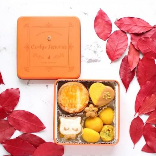 秋クッキー缶【Autumn Orange × Pumpkin】【秋スイーツ2021】【ハロウィン2021】