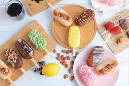 ジュエリーバー 7種セット【ストロベリーショート、レモンチーズケーキ、抹茶きなこ、モンブラン、キャラメルナッツ、ショコラ、ティラミス 各種1個】