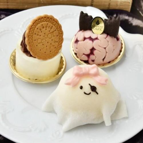 【Q-pot CAFE.】ハロウィンケーキ3種セット【ハロウィン2021】