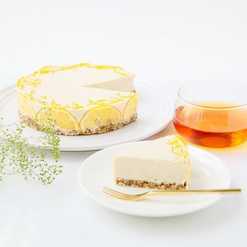ヴィーガンローレモンチーズケーキ 5号 18cm【ヴィーガンスイーツ・ヴィーガンケーキ】