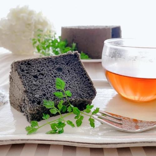 【ハロウィン2021】黒シフォン~ダイエットしたい時にこそ食べて欲しいグルテンフリースイーツ