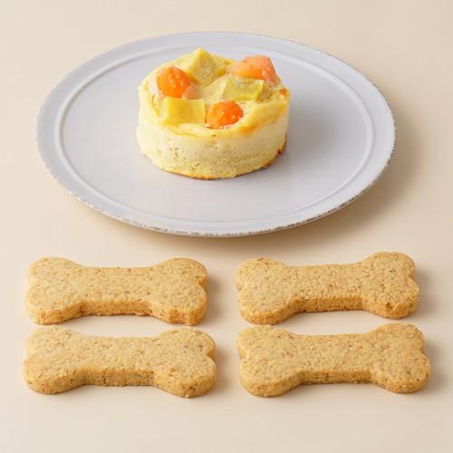 犬用 バースデーケーキ ベイクドチーズ 2号サイズ (80g)【 超小型犬~小型犬 用 】オーナメント無し
