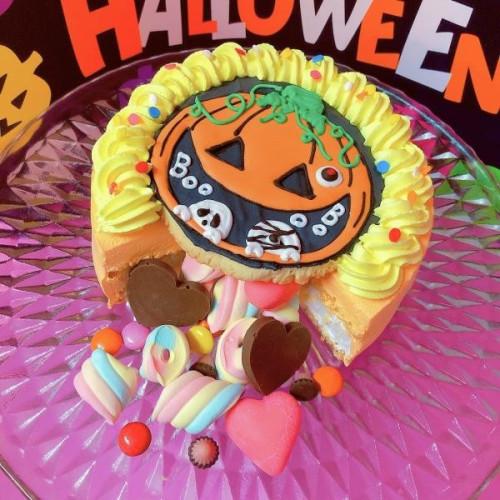 Halloween2021 かぼちゃギミックケーキ 5号【ハロウィン2021】