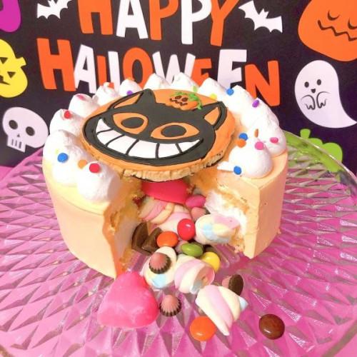 Halloween2021 ねこギミックケーキ 5号【ハロウィン2021】