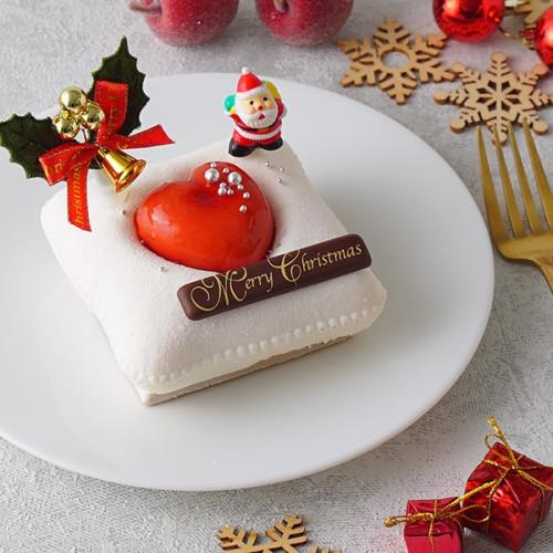 レアチーズ クリスマスデコレーション 12cm【クリスマス2021】