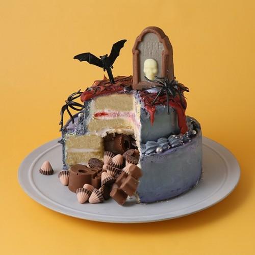 ハロウィン二段ケーキ【ハロウィン2021】