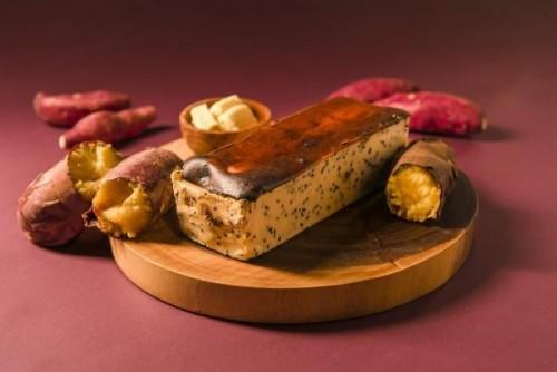 【旅するチーズケーキさつまいも】 fromファームくしまアオイファーム ホール【秋スイーツ2021】