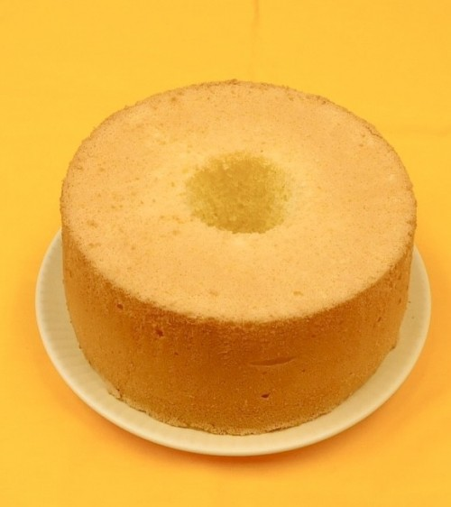 ふわ・もちプレミアム北海道産米のシフォンケーキ
