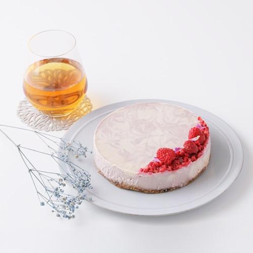 ヴィーガンローラズベリーチーズケーキ 5号 18cm【ヴィーガンスイーツ・ヴィーガンケーキ】