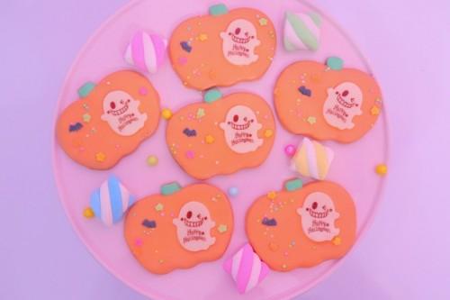 【ハロウィン】チョコクッキーポップス6本【ハロウィン2021】