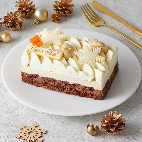 【アルノー・ラエール】デジール 15cm パリの名店が手掛けるバニラ×ブロンドチョコレートの濃厚な味わい【クリスマス2021】