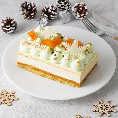 【アルノー・ラエール】ベルランゴ15㎝ 濃厚なピスタチオの味わいと軽やかなムースのマリアージュ【クリスマス2021】