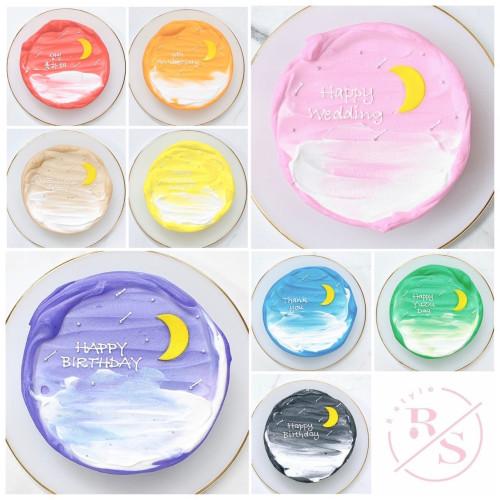 センイルケーキ♪Moon選べる8色! 4号