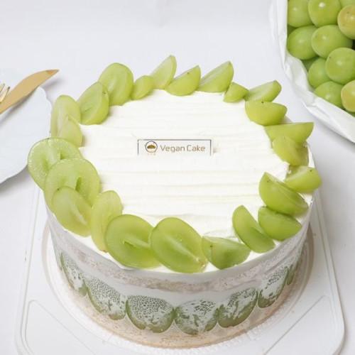 《シャインマスカット》 ショートケーキ 6号 Vegan Shine Muscat Cake 6′【ヴィーガンスイーツ・ヴィーガンケーキ】