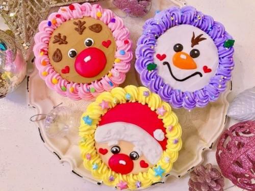 にぎやかクリスマストリプルケーキセット【クリスマス2021】
