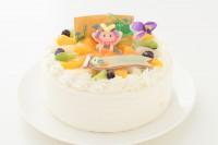 こどもの日2019 こどもの日に!丸型デコレーションケーキ 5号 15cm