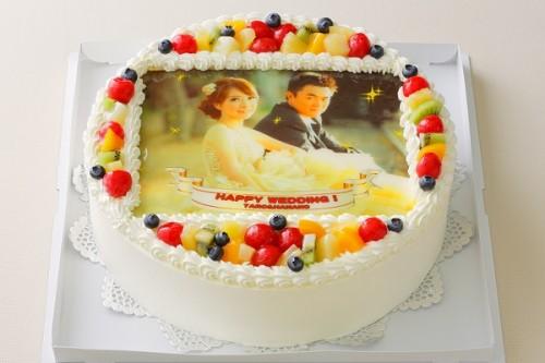 写真ケーキ大パーティ用 10号 30cm