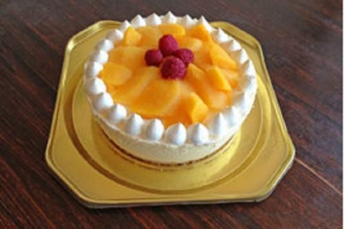 たっぷりマンゴーのアイスケーキ 4号 2cm