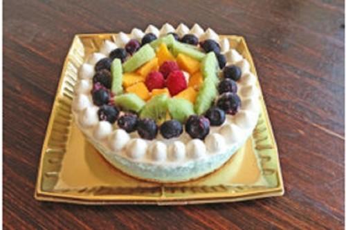 たっぷりフルーツのレインボーアイスケーキ 5号 15㎝