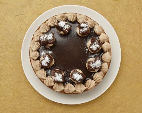濃厚なチョコ生デコレーション 5号 15cm