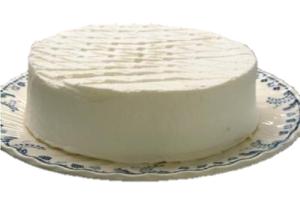 レモンの香り☆純白チーズ 6号 18cm