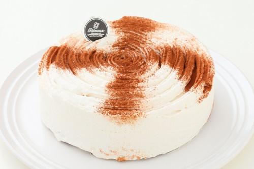 卵・乳製品・小麦粉除去 デコレーションセット付き ショコラミルク 5号 15cm