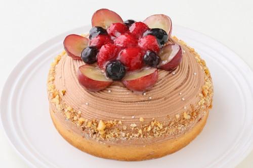 【一日5台限定】木苺のチョコレートバースデーケーキ 14cm