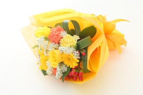 カラーが選べるお任せ花束 S 約25-30cm