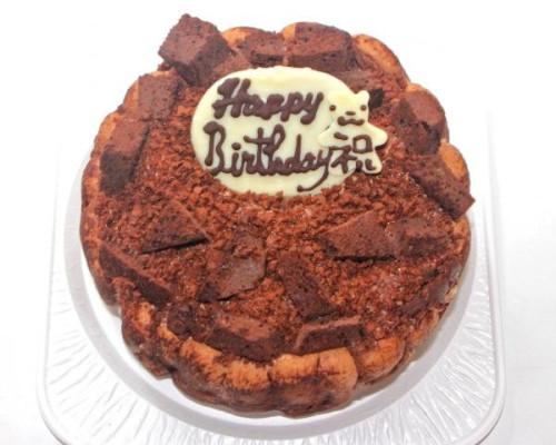 チョコレートアイスクリームデコレーションケーキ4号 12cm