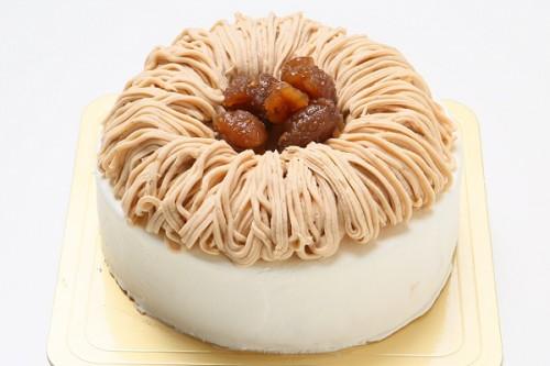 栗のショートケーキ 4号 12cm